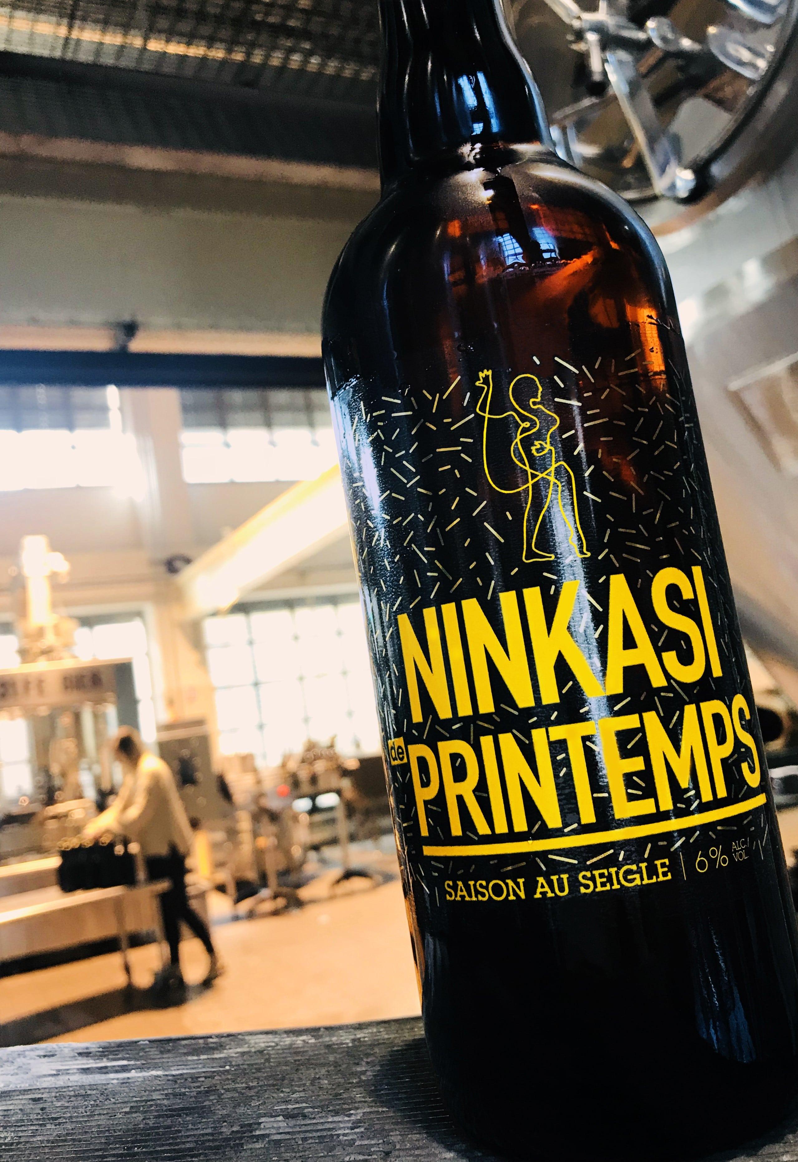 Bière Ninkasi de printemps 2018