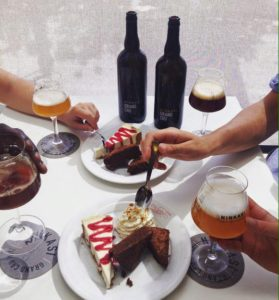 Accord mets bières dessert - Grand cru et cheesecake
